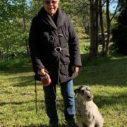 Kirsten og Pepita til hundetræning